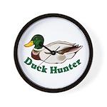 Duck Hunter Wall Clock