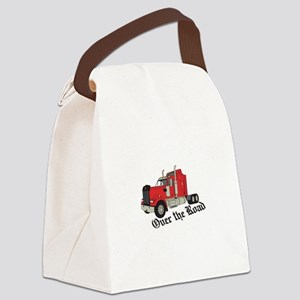 Over The Road Canvas Lunch Bag