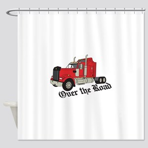 Over The Road Shower Curtain