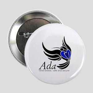"Ada Mascot Logo 2.25"" Button"