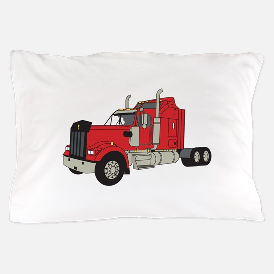 Kenworth Tractor Pillow Case