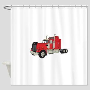 Kenworth Tractor Shower Curtain