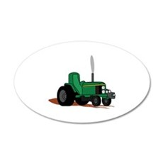 Pulling Tractor Wall Decal