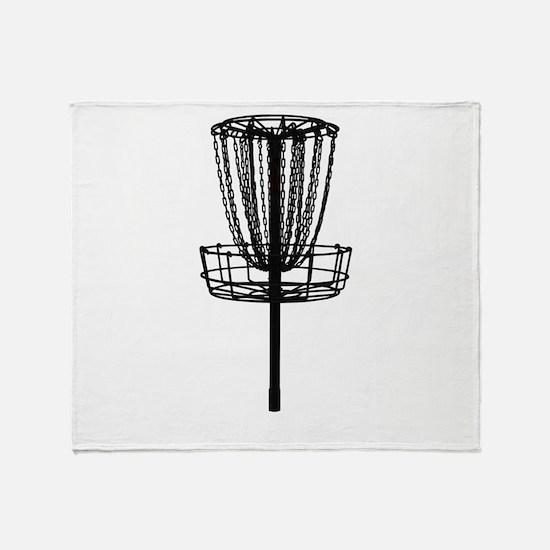 Cute Disc golf Throw Blanket