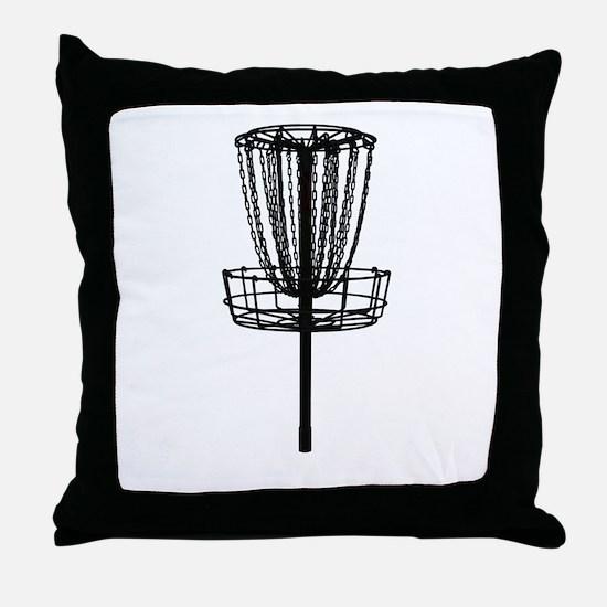 Unique Disc golf Throw Pillow
