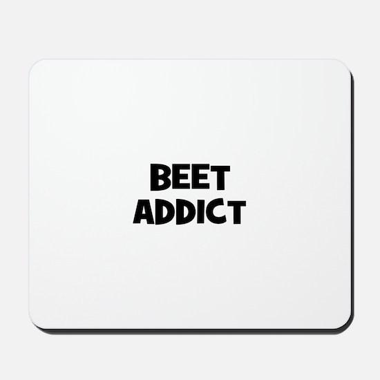 beet addict Mousepad