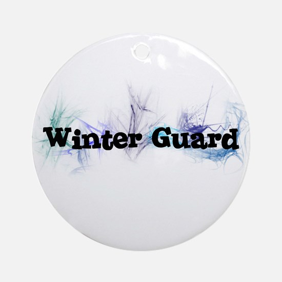 Winter Guard Ornament (Round)