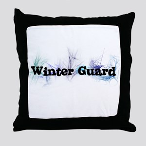 Winter Guard Throw Pillow