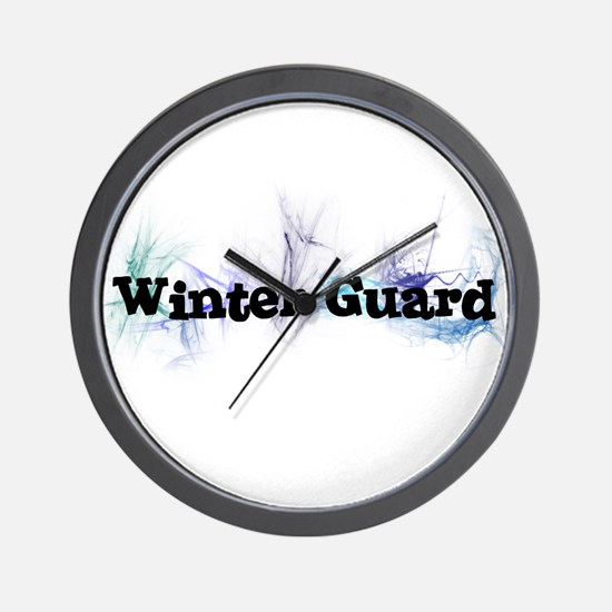 Winter Guard Wall Clock