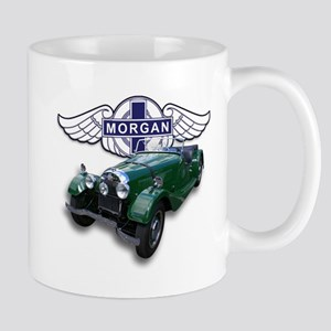 Green British Morgan Mug