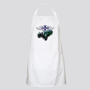 Green British Morgan BBQ Apron