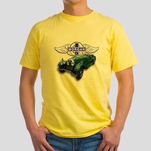 Green British Morgan Yellow T-Shirt