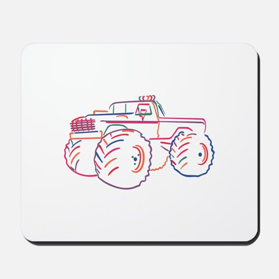 Off Road Pickup Mousepad
