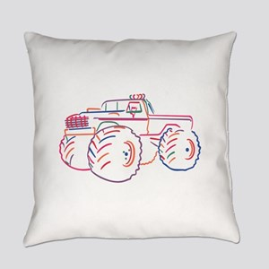 Off Road Pickup Everyday Pillow