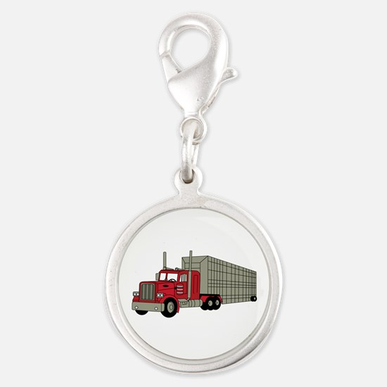 Semi Truck Charms