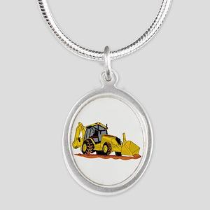 Backhoe Loader Necklaces
