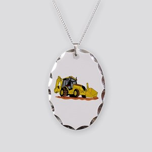 Backhoe Loader Necklace