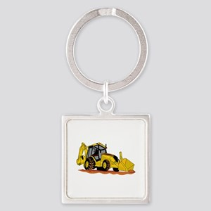 Backhoe Loader Keychains