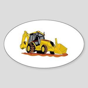 Backhoe Loader Sticker