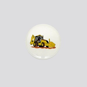 Backhoe Loader Mini Button