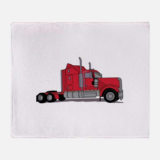 Truck Throw Blanket