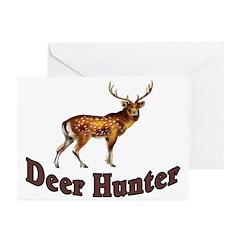 Deer Hunter Greeting Cards (Pk of 10)