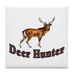 Deer Hunter Tile Coaster