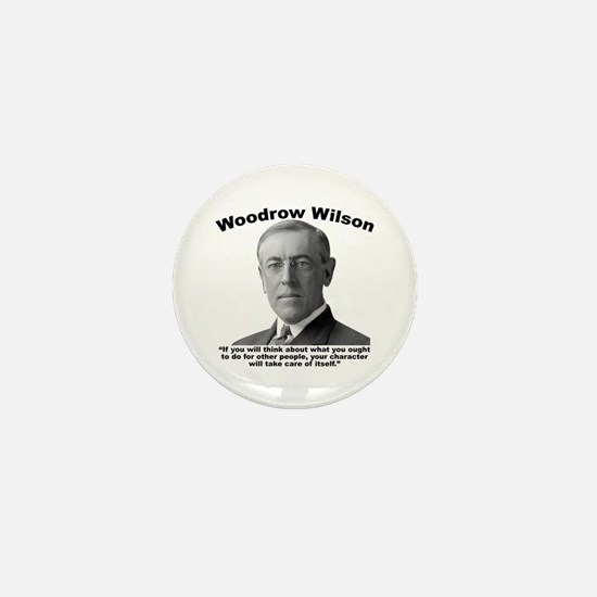 Wilson: Character Mini Button