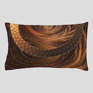 Brown, Bronze, Wicker, and Rattan Frac Pillow Case