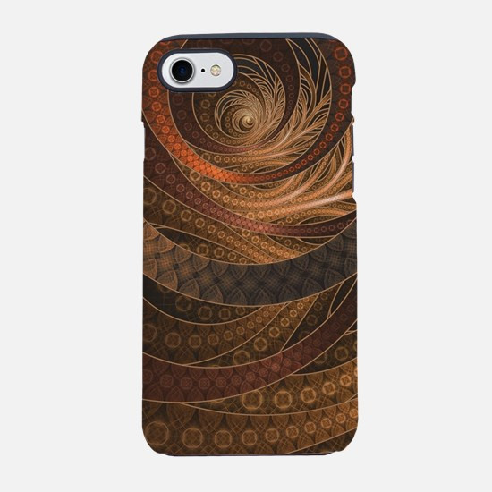 Brown, Bronze, Wicker, and Rat iPhone 7 Tough Case