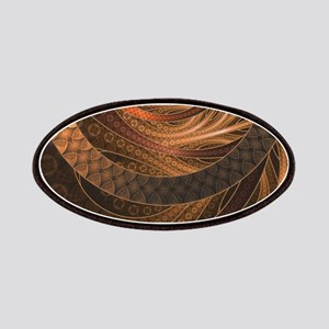 Brown, Bronze, Wicker, and Rattan Fractal Ci Patch