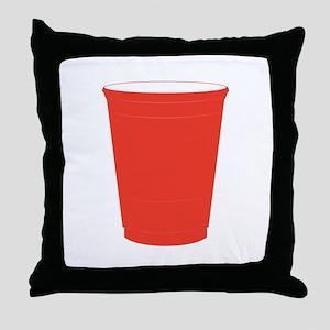 Silo Cup Throw Pillow