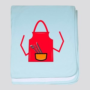 Grill Apron baby blanket
