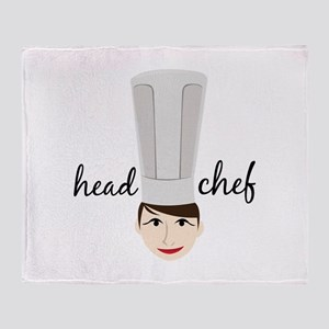 Head Chef Throw Blanket