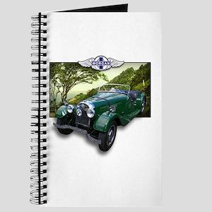 British Racing Green Morgan Journal