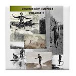 LEGENDARY SURFERS Vol. 1 Tile Coaster