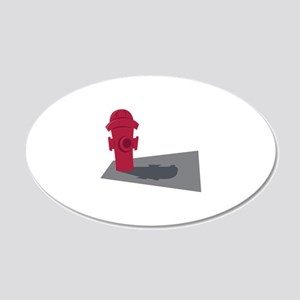 fire hydrant Wall Decal