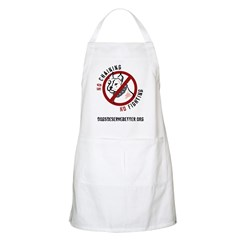 No Chains No Fights BBQ Apron