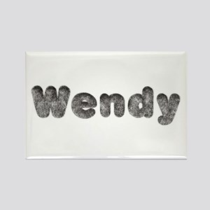 Wendy Wolf Rectangle Magnet