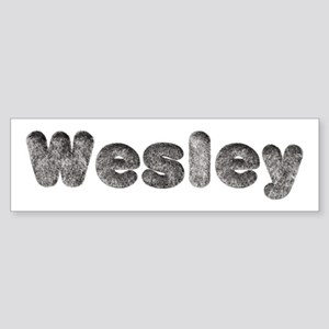 Wesley Wolf Bumper Sticker