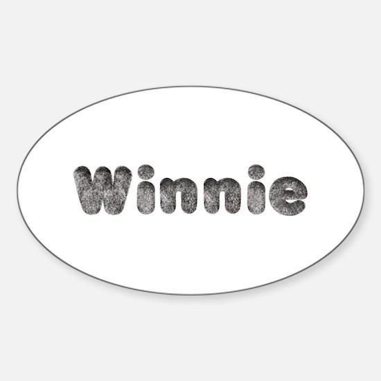 Winnie Wolf Oval Decal