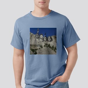 Native Mt. Rushmore Ash Grey T-Shirt