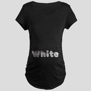 White Wolf Maternity Dark T-Shirt