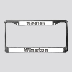 Winston Wolf License Plate Frame