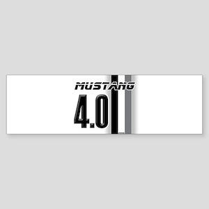 mustang 4 0 Bumper Sticker