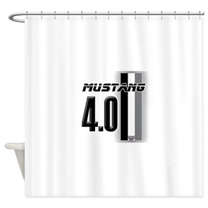Mustang Gt Shower Curtains