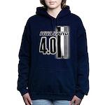 mustang 4 0 Women's Hooded Sweatshirt