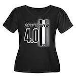 mustang 4 0 Plus Size T-Shirt