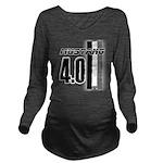 mustang 4 0 Long Sleeve Maternity T-Shirt