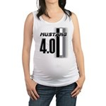 mustang 4 0 Maternity Tank Top